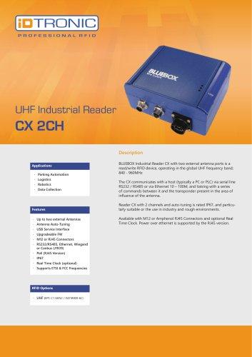 RFID Industrial Readers   BLUEBOX CX LR 2CH
