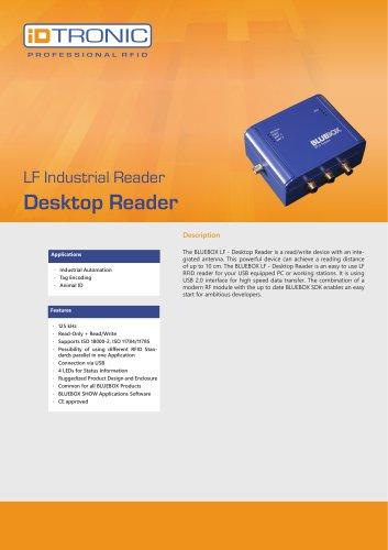RFID Industrial Readers   BLUEBOX Desktop Reader LF