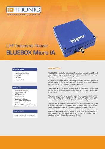 RFID Industrial Readers   BLUEBOX Micro IA