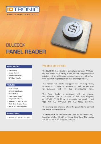 RFID Industrial Readers   BLUEBOX Panel Reader