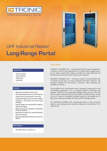 RFID Industrial Readers   UHF RFID Portal