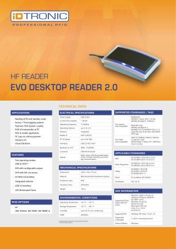 RFID Readers   Desktop Reader EVO HF 2.0