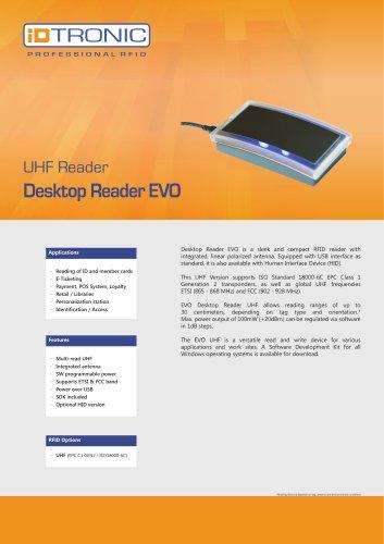 RFID Readers   Desktop Reader EVO UHF