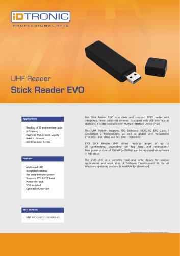 RFID Readers   Stick Reader EVO UHF