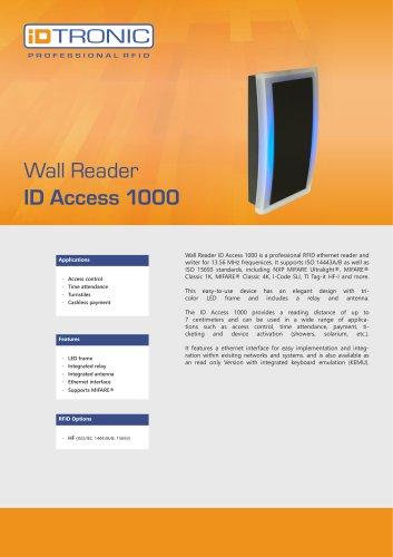 RFID Readers   Wall Reader ID Access 1000