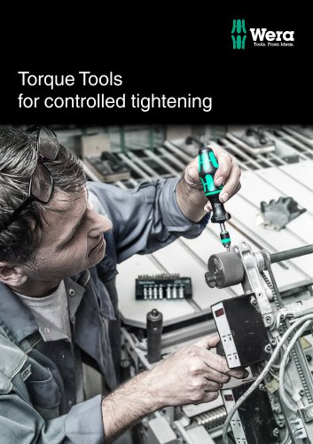 Torque Tools for controlled tightening