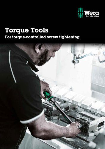Torque Tools For torque-controlled screw tightening