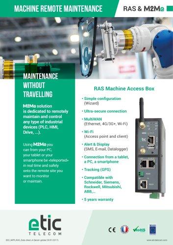 RAS Machine Access Box