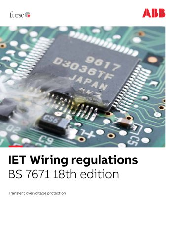 ABB Furse IET wiring regulations brochure