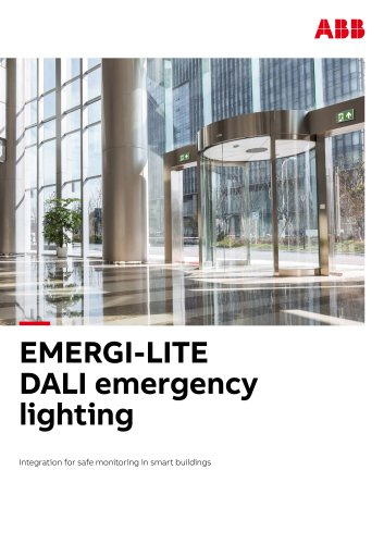 DALI emergency lighting brochure_UK Emergi-lite