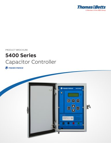 Fisher Pierce 5400 Series Capacitor Controller product brochure