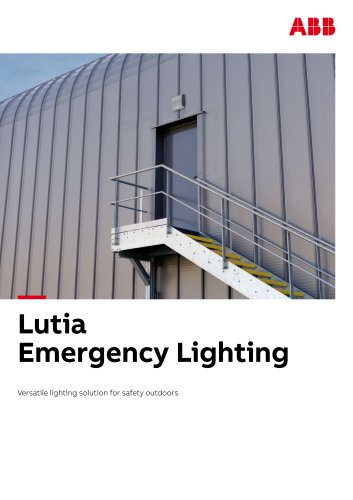 Lutia emergency lighting brochure_ABB master