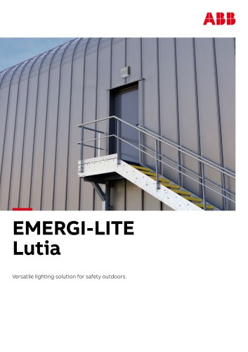Lutia emergency lighting brochure_EMERGI-LITE UK