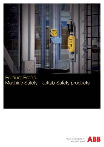 Machine Safety - Jokab Safety products