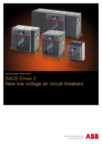SACE Emax 2. New low voltage air circuit-breakers