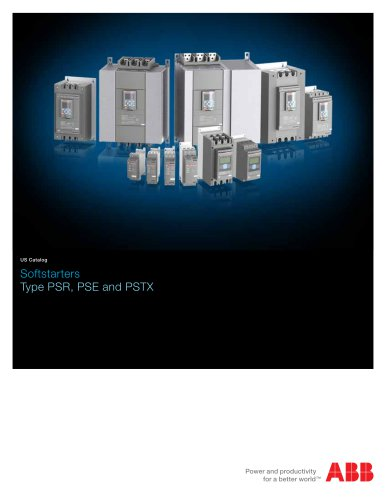 Softstarter PSR, PSE and PSTX