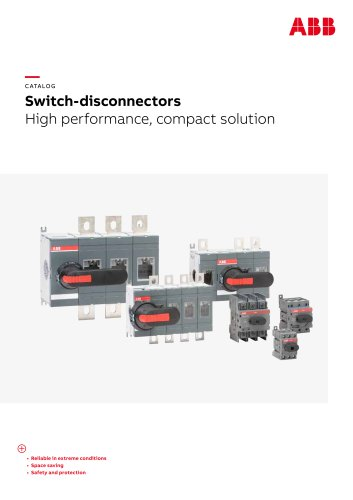 Switch-disconnectors