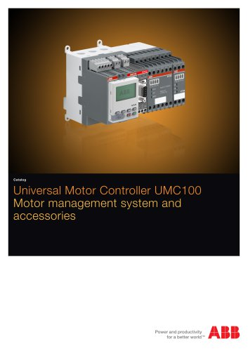 Universal Motor Controller UMC100 - Motor management system and accessories