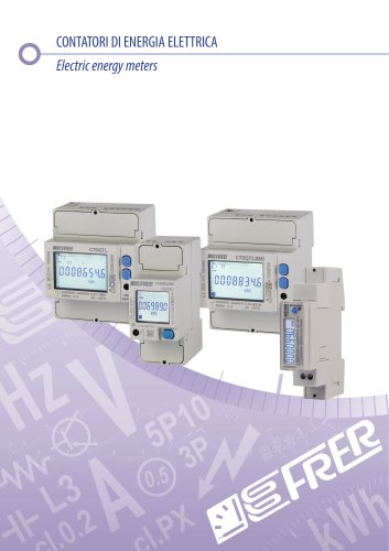 Electric energy meters