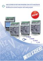 Multifunction network analyser with analog outputs