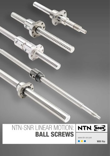 Linear Motion: Ball Screws