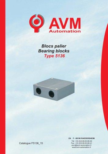 Bearing block Type 5136