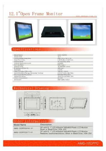 Amongo 12 inch industrial open frame monitors