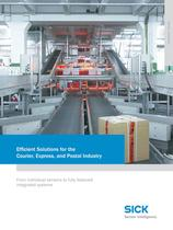 Efficient Solutions for the Courier, Express, and Postal Industry - 1