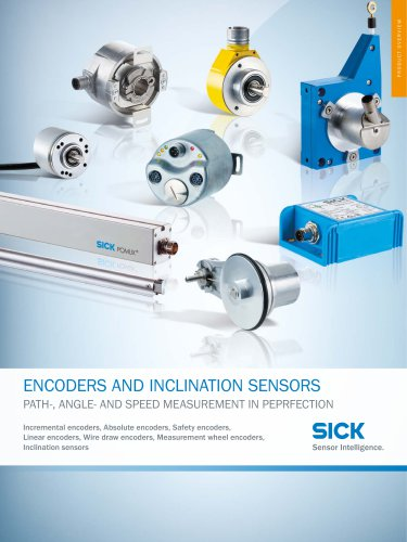 ENCODERS AND INCLINATION SENSORS
