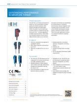 G2F Photoelectric sensors - 2