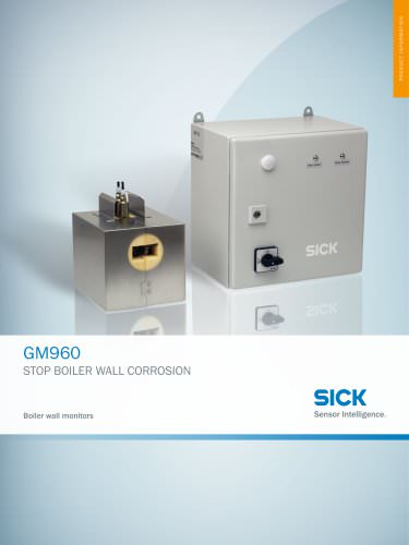 GM960 Boiler Wall Monitor