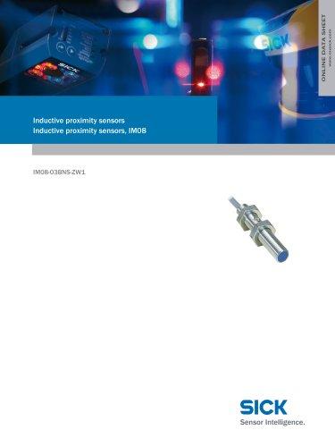 Inductive proximity sensors Inductive proximity sensors, IM08