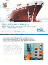 Maritime Emissions Monitoring - 1