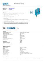 Miniature photoelectric sensors - 2