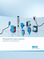 Photoelectric laser sensors - 1