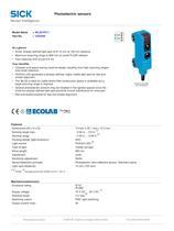 Photoelectric sensors - 2