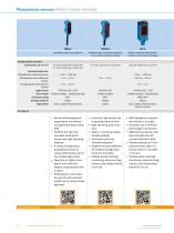 Photoelectric sensors - 12