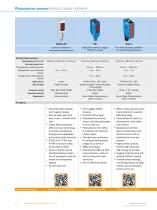 Photoelectric sensors - 16