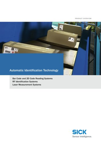 Product Overview Automatic Identification Technology