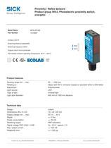 W9-2  Small photoelectric sensors - 2