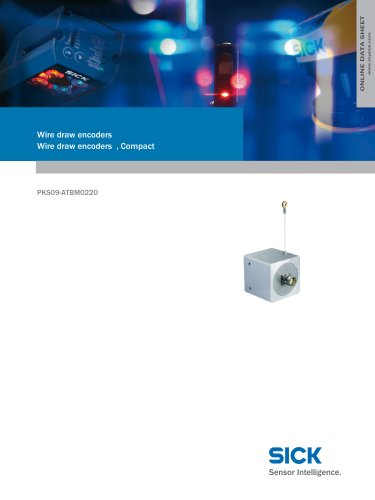 Wire draw encoders Wire draw encoders , Compact