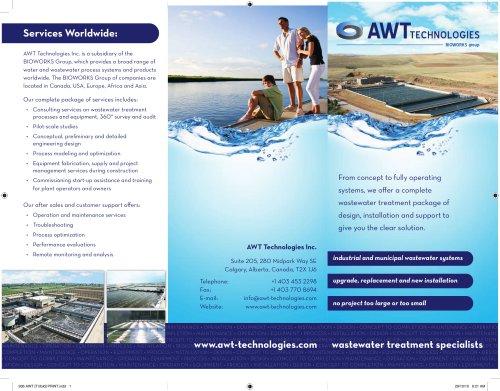 AWT Technologies Tri-fold Brochure