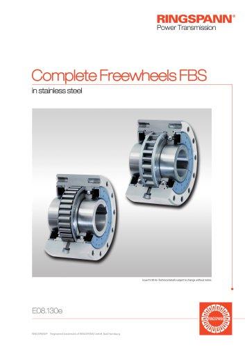 Complete Freewheels FBS RINGSPANN
