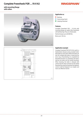 Complete Freewheels FGR … R A1A2 RINGSPANN