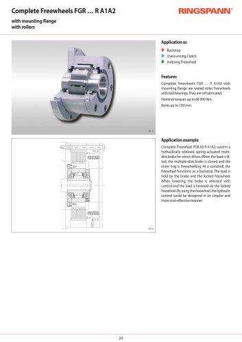 Complete Freewheels FGR … R A2A7 RINGSPANN