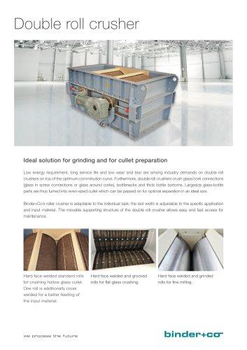 Binder+Co Double roll crusher.pdf