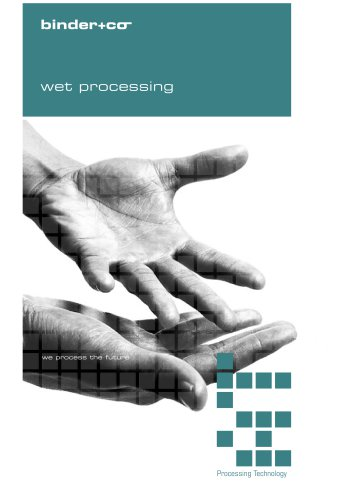 wet processing