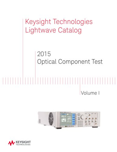2015 Optical Component Test