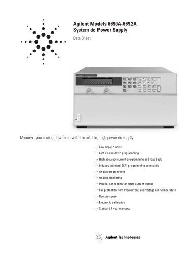 6690A 6600-Watt System Power Supply, 15V, 440A