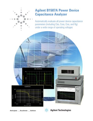 Agilent B1507A Power Device  Capacitance Analyzer